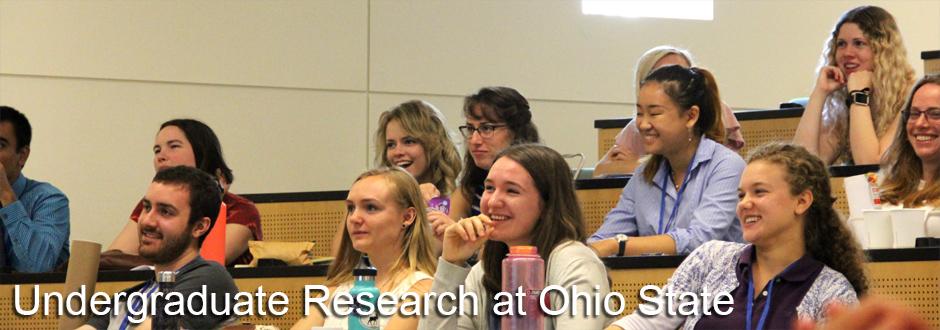 Undergraduate Research at Ohio State