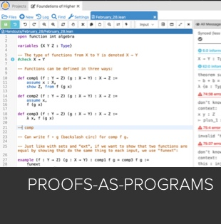 Proofs-as-Programs