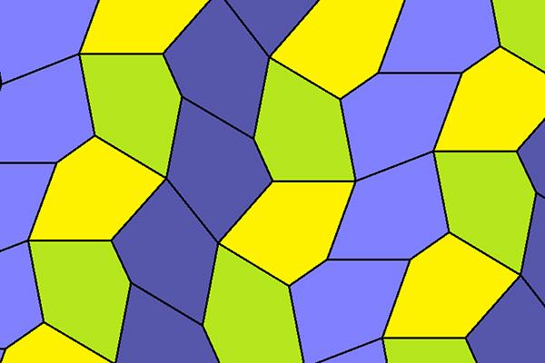 Tessellation with pentagons type 9