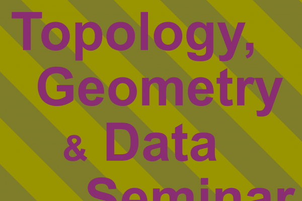 Topology, Geometry and Data Seminar